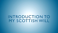 Introduction to My Scottish Will